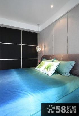 现代简约风格卧室装修效果图大全
