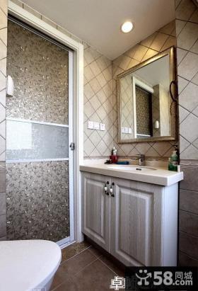 欧式家庭小卫生间装修效果图
