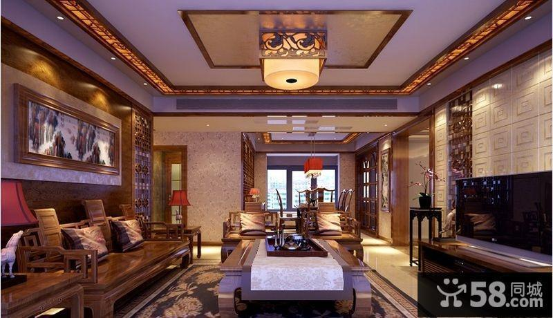 中式古典沙发