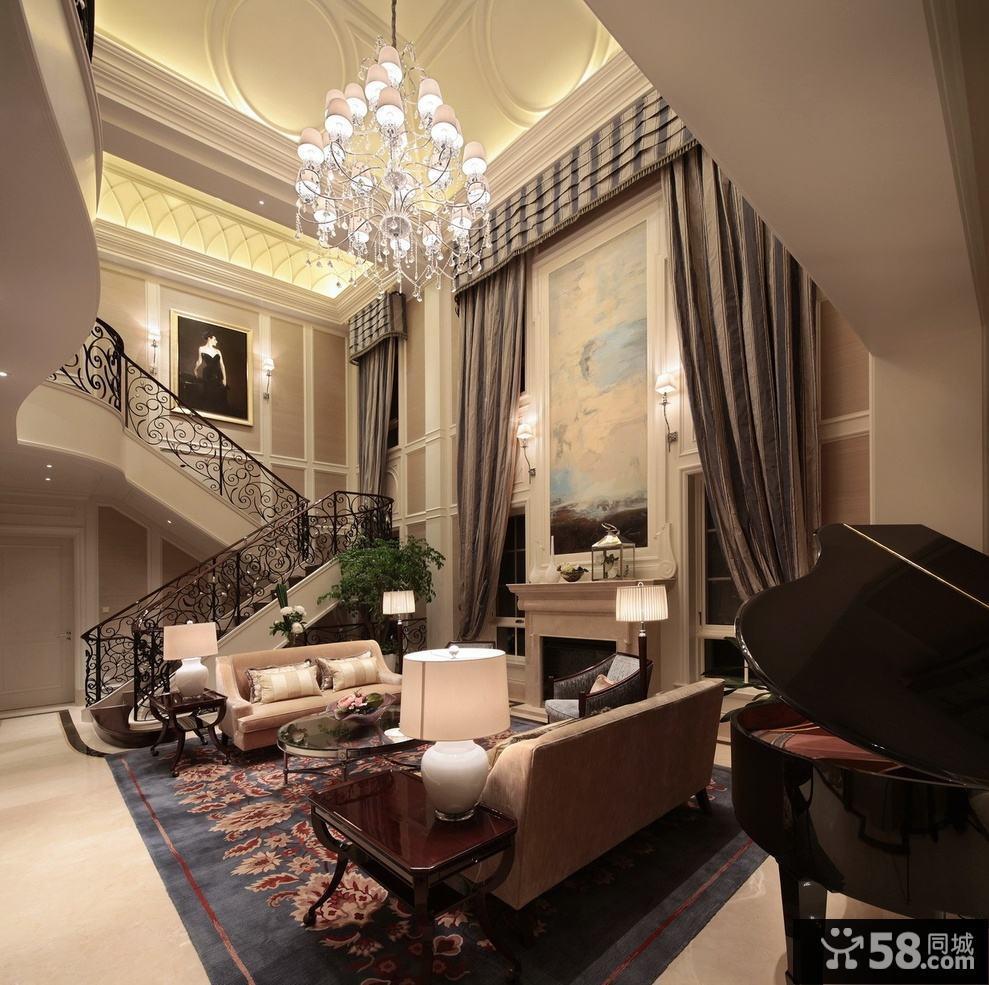 客厅吊顶灯光