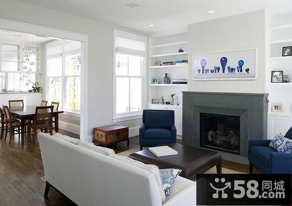 客厅背景墙十字绣
