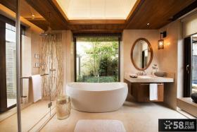 中式风格豪华卫生间图片大全