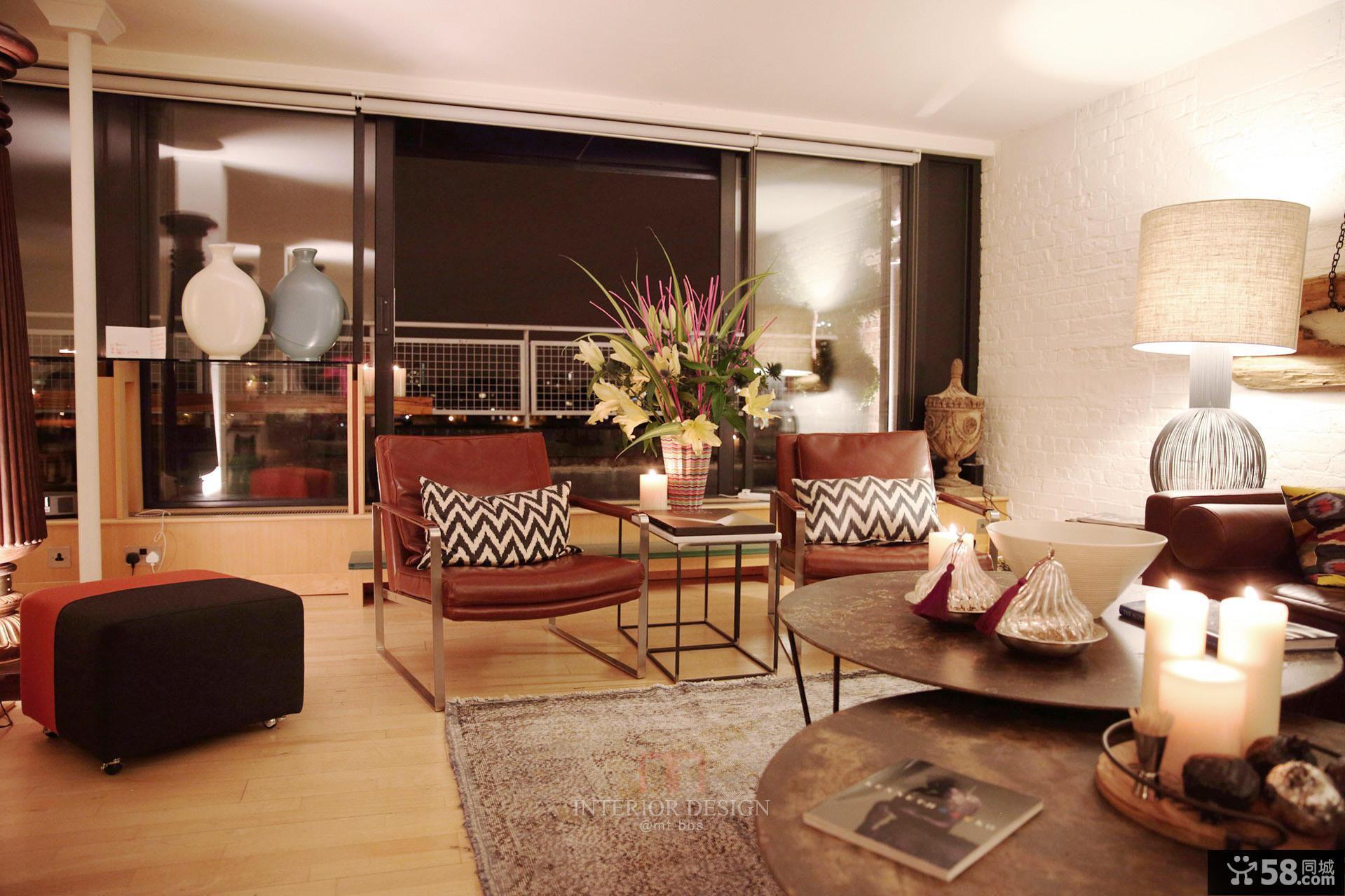 美式家庭设计装修客厅图片