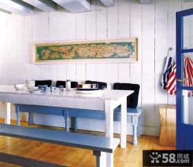 地中海家庭设计餐厅图片欣赏