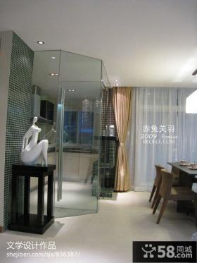 家居室内玻璃门设计