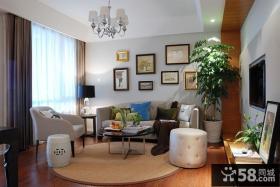 最新简约风格三居室效果图