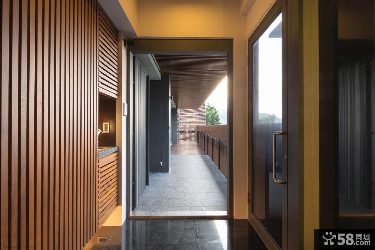 现代风格进门装修玄关图片欣赏