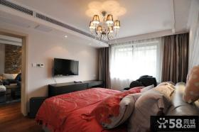 宜家风格婚房卧室布置效果图