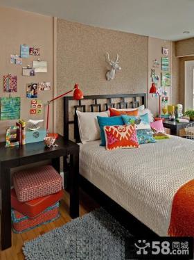 混搭美式儿童房布置效果图