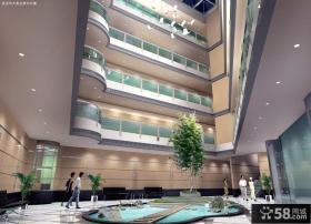 建筑中庭设计效果图