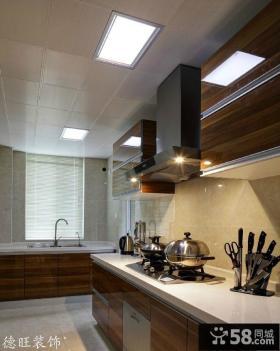 简约厨房集成吊顶装修效果图欣赏