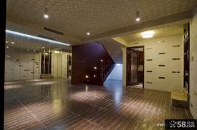 中式风格别墅门厅装修效果图欣赏
