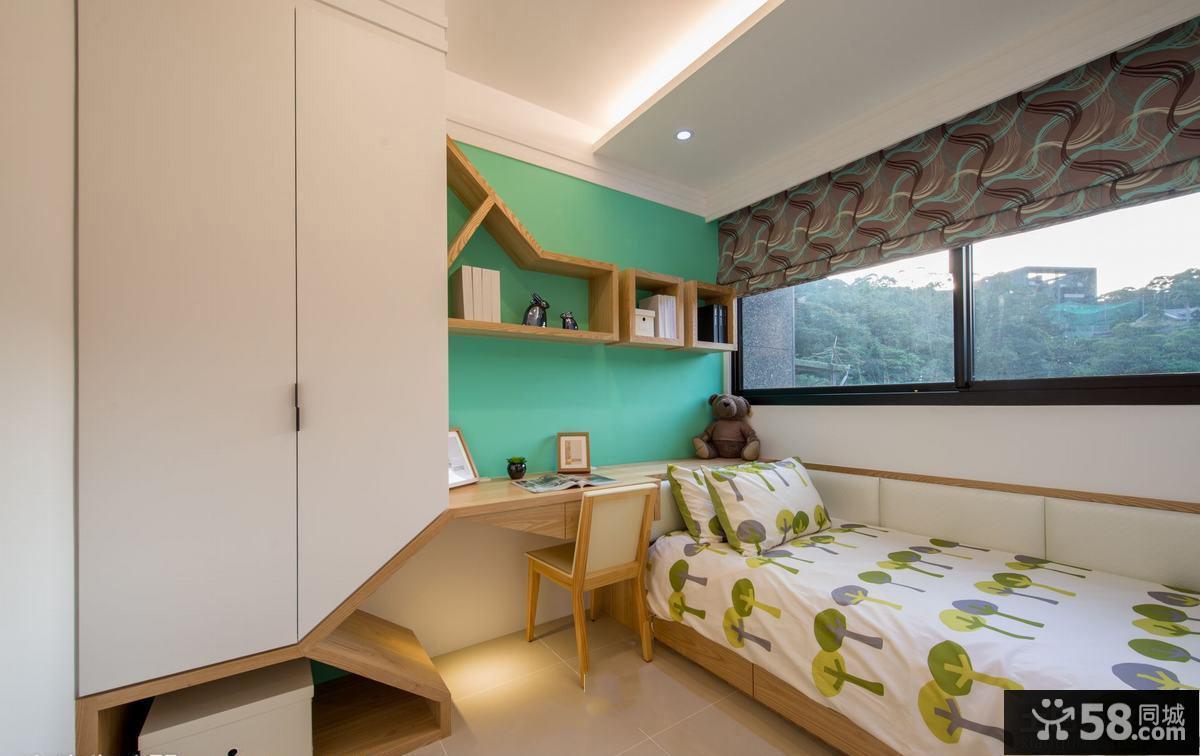 最新简约小儿童房间布置效果图