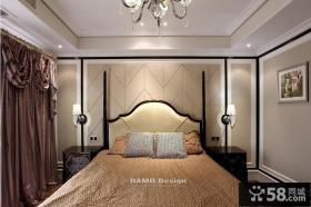 现代欧式卧室装修效果图大全图