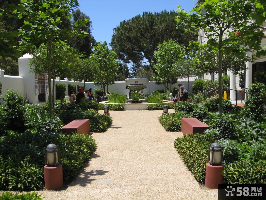 别墅景观效果图片欣赏
