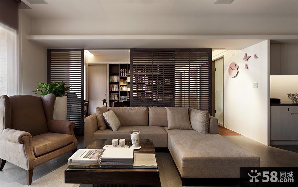 简约客厅背景墙设计图