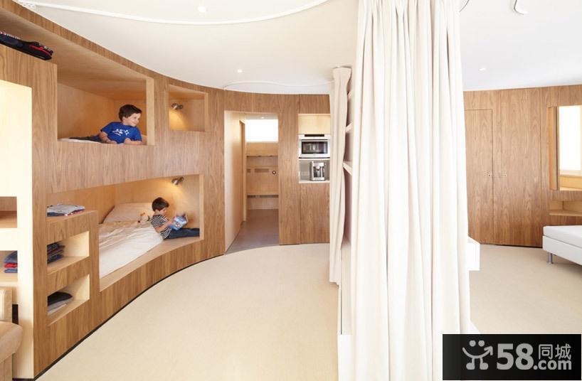 北欧风格儿童房装修效果图大全2012图片