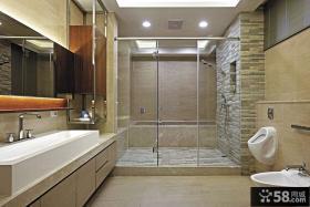 现代日式设计卫生间图大全