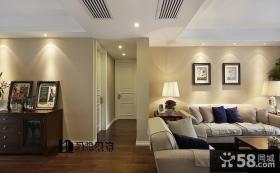 欧式风格客厅玄关装修效果图