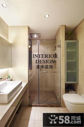 干湿分离卫生间装修设计效果图