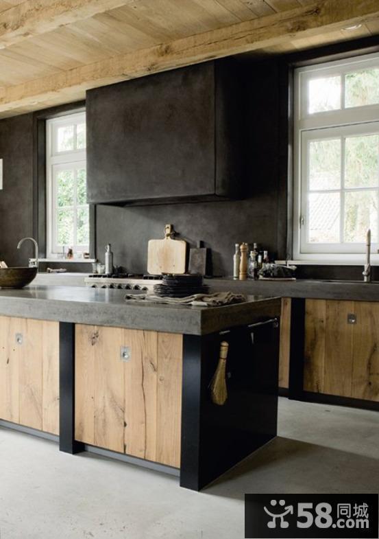 农村小厨房设计效果图 - 58装修效果图