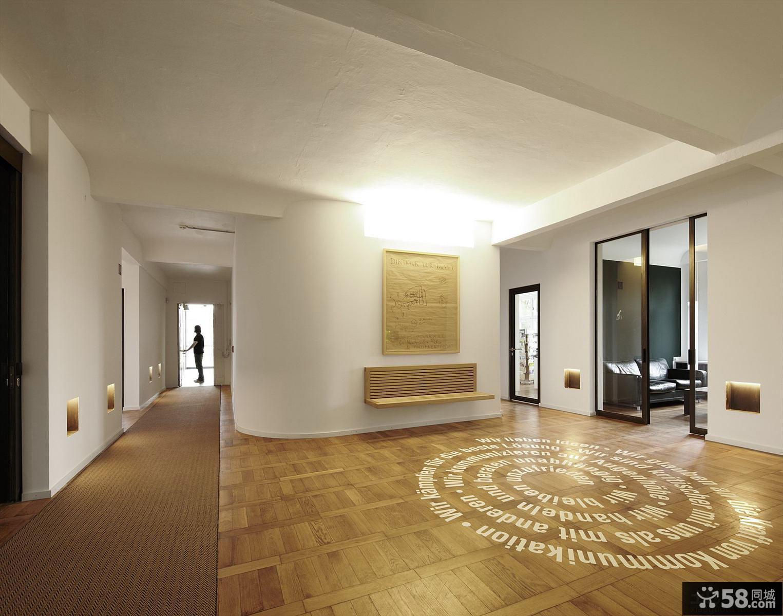 家庭大厅地面装修效果图