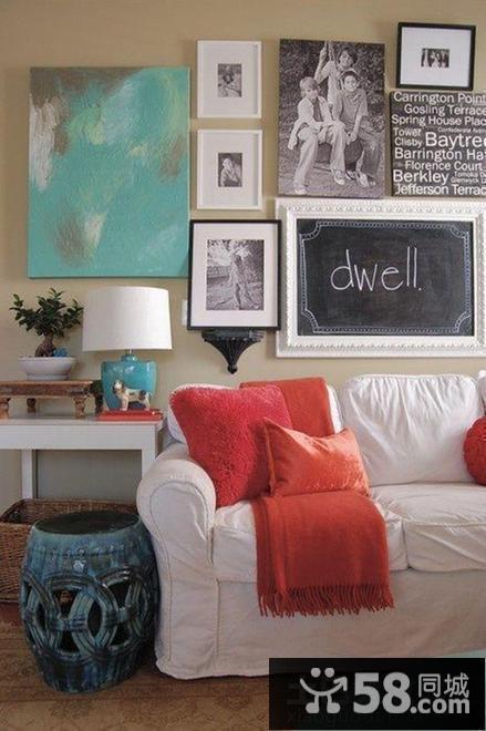 客厅装修效果图简约小户型