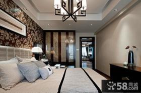 中式家装主卧室图片大全