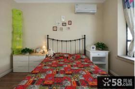2014地中海卧室装修图片
