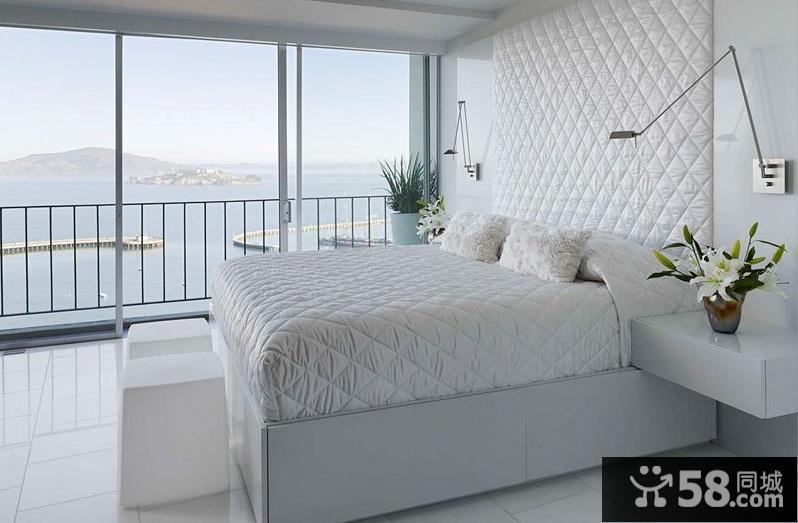 长方形卧室设计效果图
