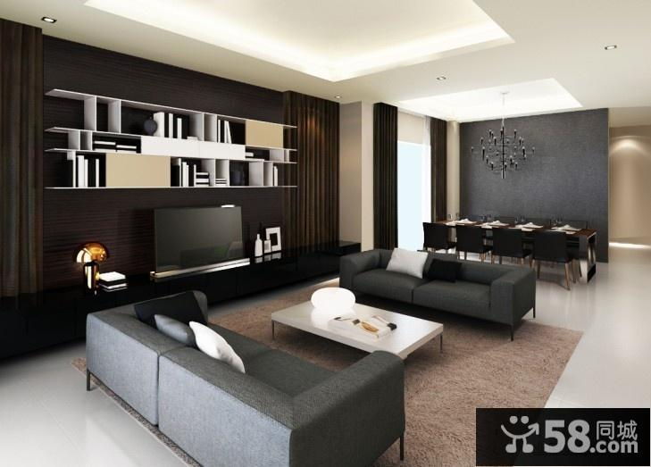 卧室现代简约吊灯图片欣赏