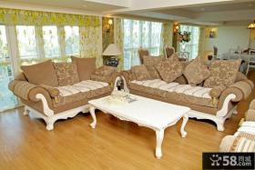乡村田园风格小户型客厅装修效果图大全2012图片