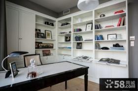 现代90平米小户型书房装修效果图大全
