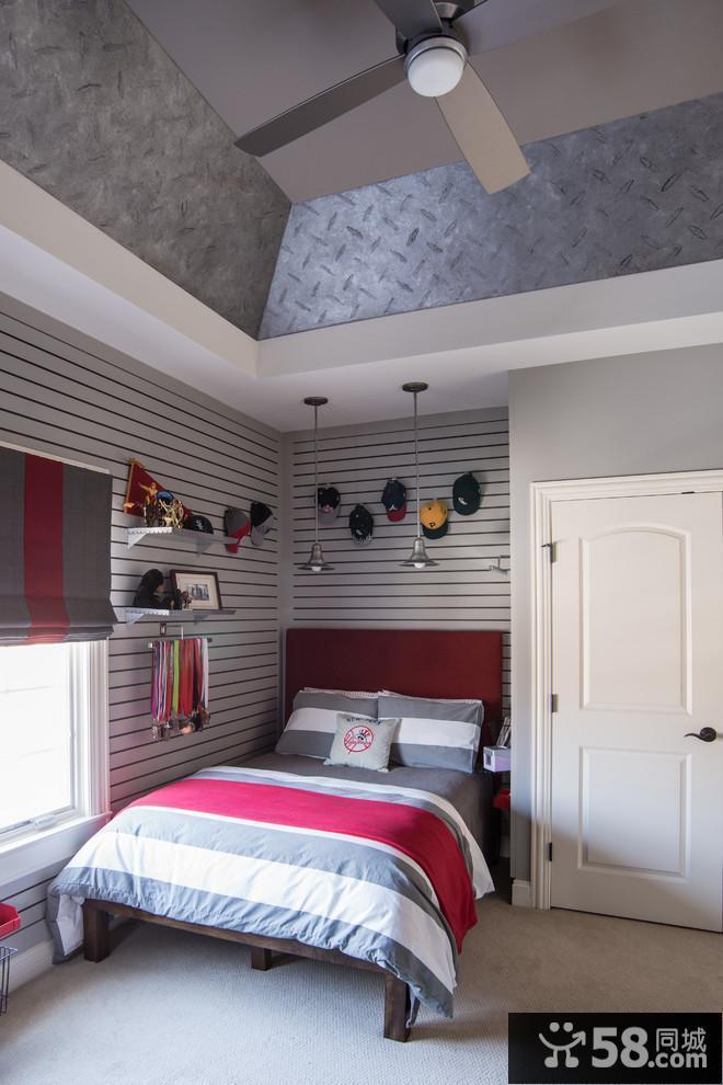 简约主卧室装修效果图