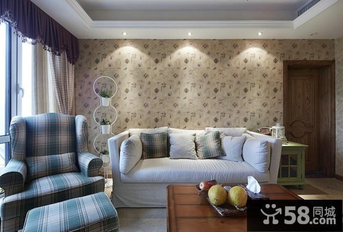 地中海装修设计两室两厅大全