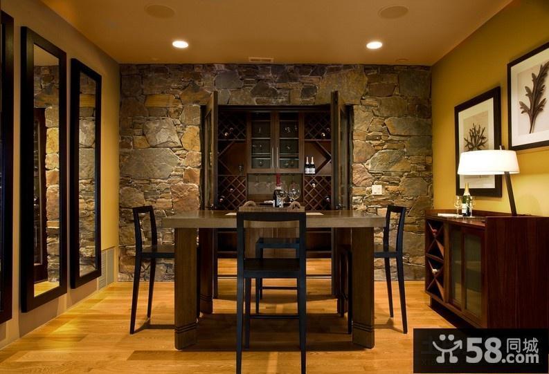 美式乡村风格厨房图片