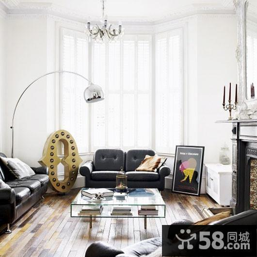 客厅电视墙柜设计