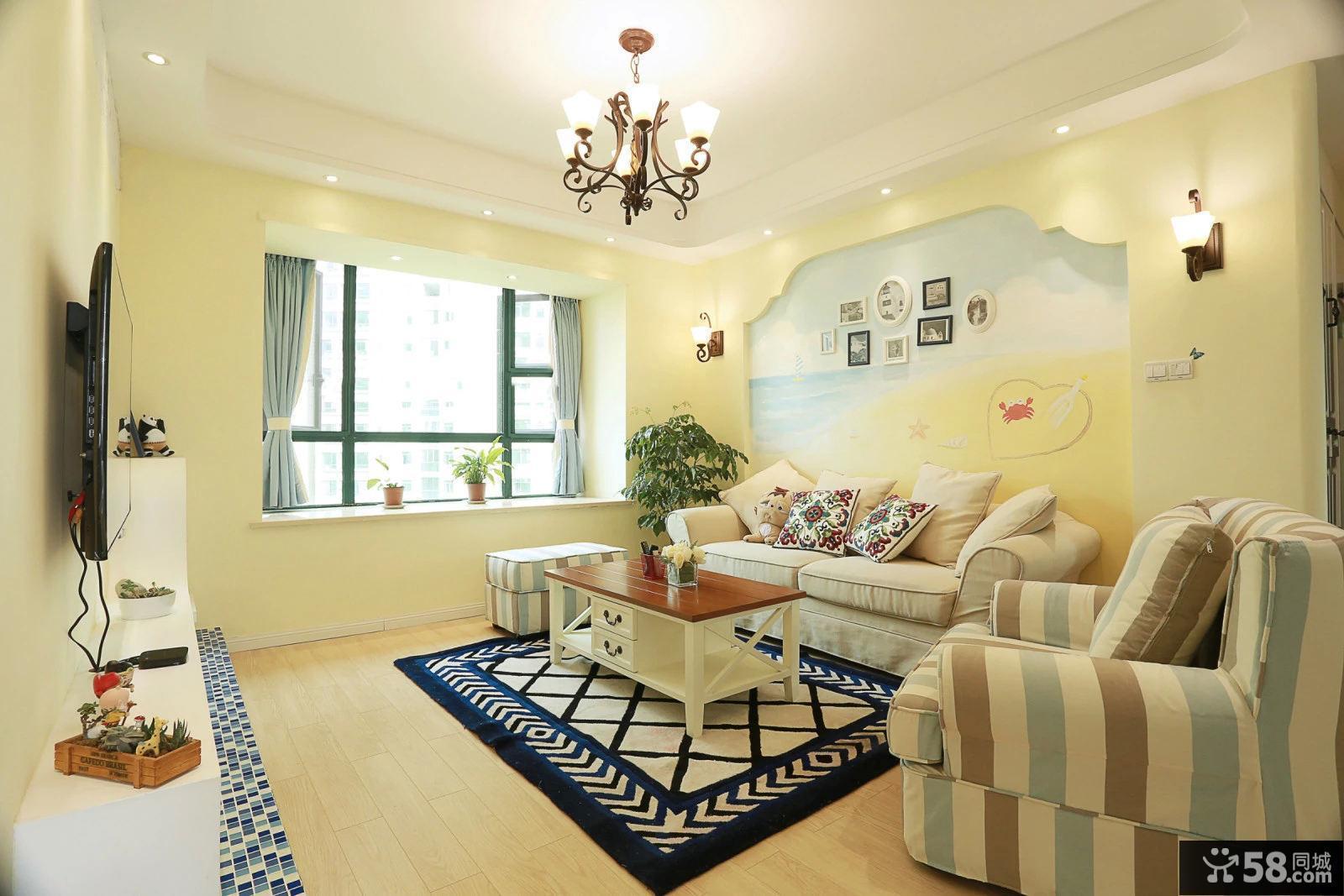 70平米小户型家装设计效果图