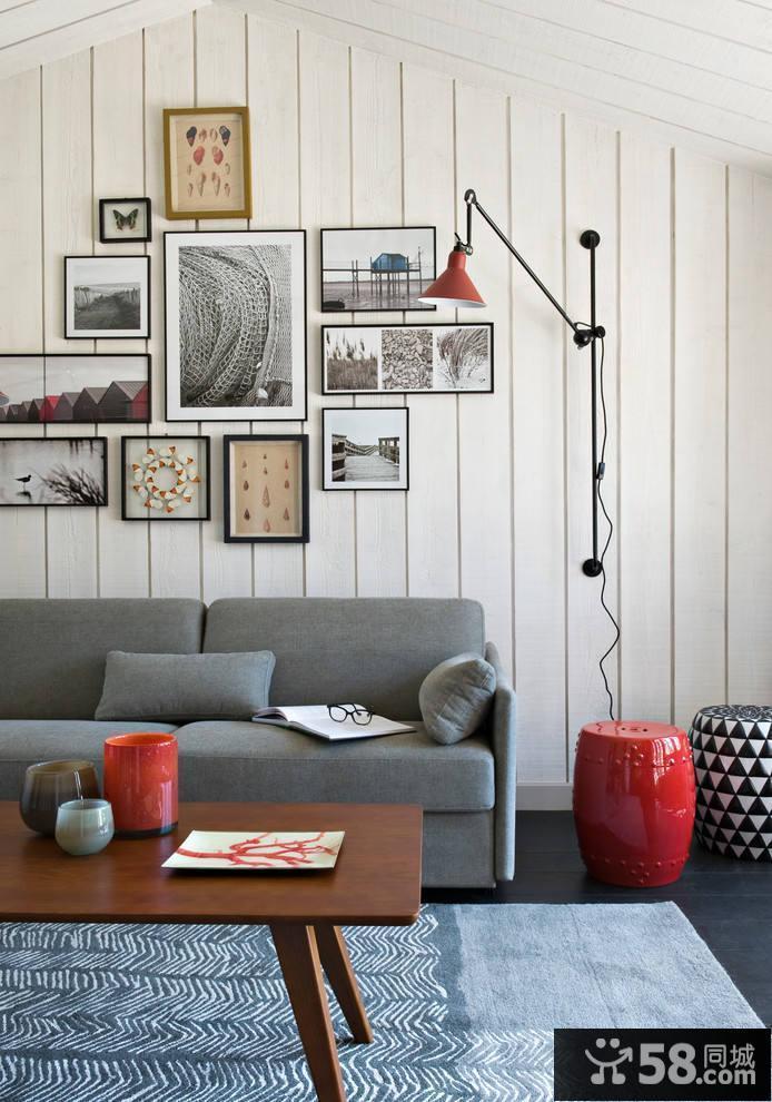 美式乡村风格客厅装修图片