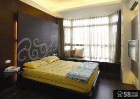 简约日式风格装修设计卧室效果图