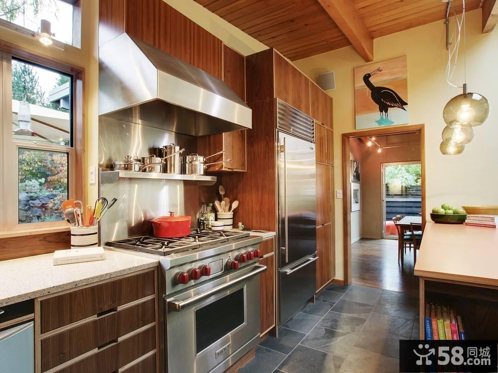 l型厨房设计效果图