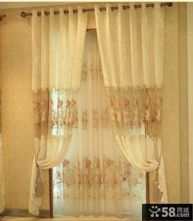 薄纱窗帘效果图片