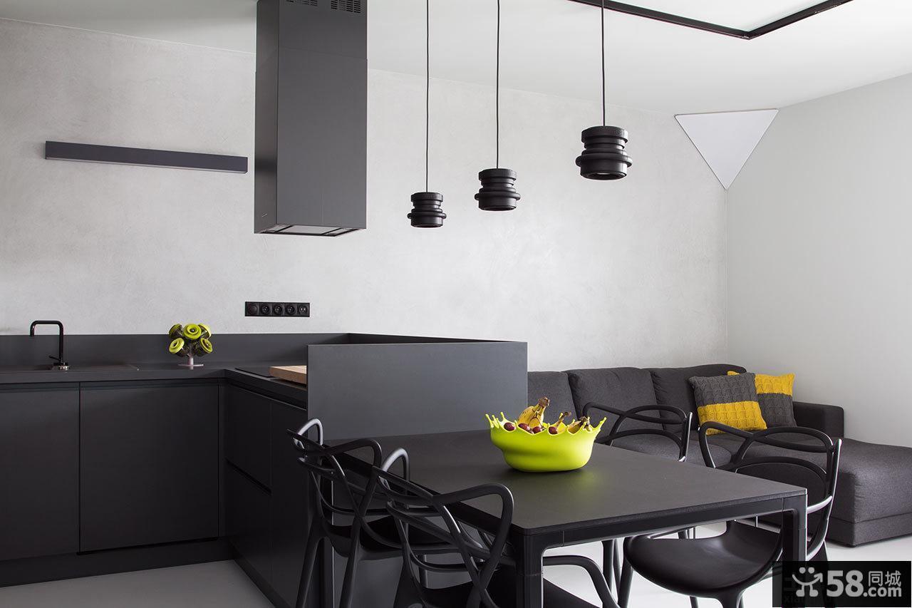 现代简约风格餐厅设计图片