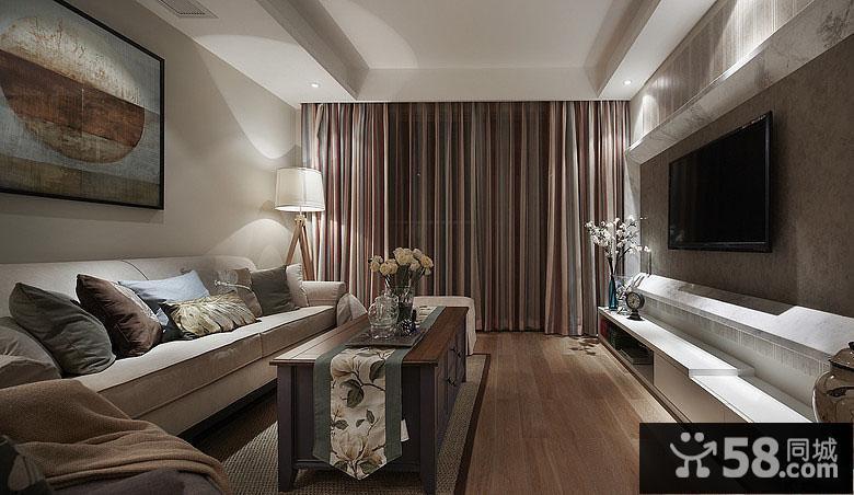 客厅装饰墙效果图