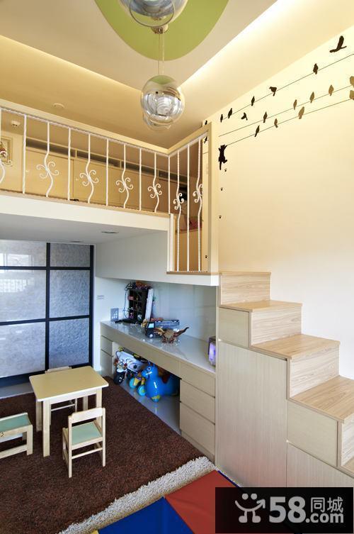 复式房楼梯装修