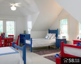 阁楼儿童房室内装修效果图
