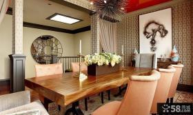 复式餐厅设计效果图大全