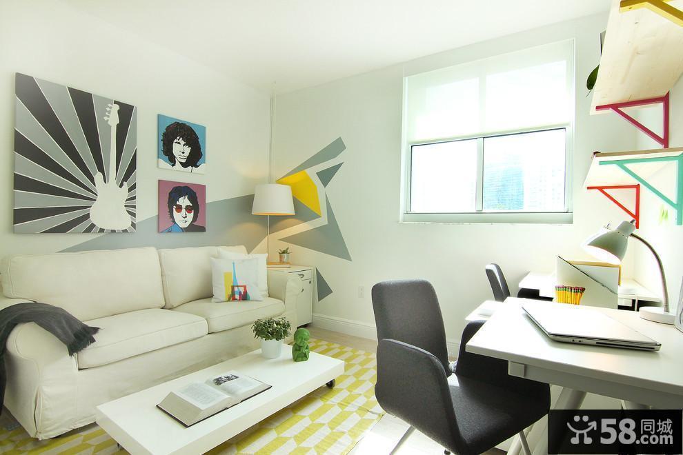 家居装修效果图客厅电视墙