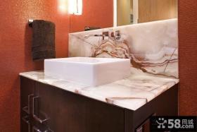 欧式装修效果图 家庭装修效果图卫生间图片