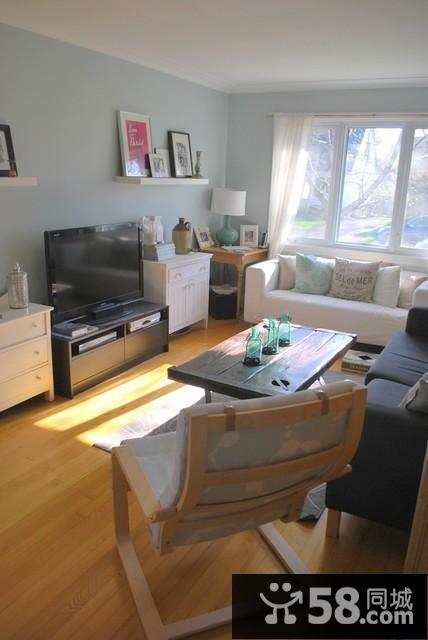 客厅与电视墙装修